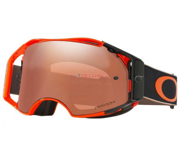 OAKLEY Brille: Airbrake Prizm MX Ryan Dungey Signature Series, orange/black-iridium