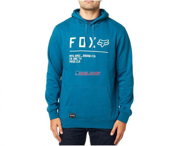 FOX Hoody: Non Stop, blau
