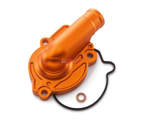 KTM SXS Aluminium-Wasserpumpendeckel 125/150 16-, orange