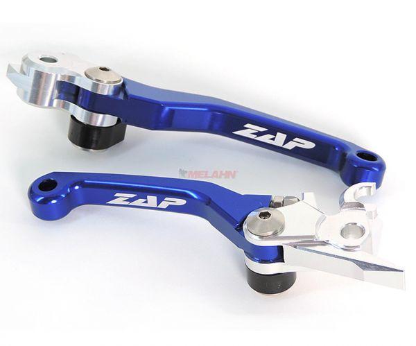 ZAP Flex-Kupplungs-/Bremshebel-Set (Magura/Magura), HUSQVARNA 19- , blau