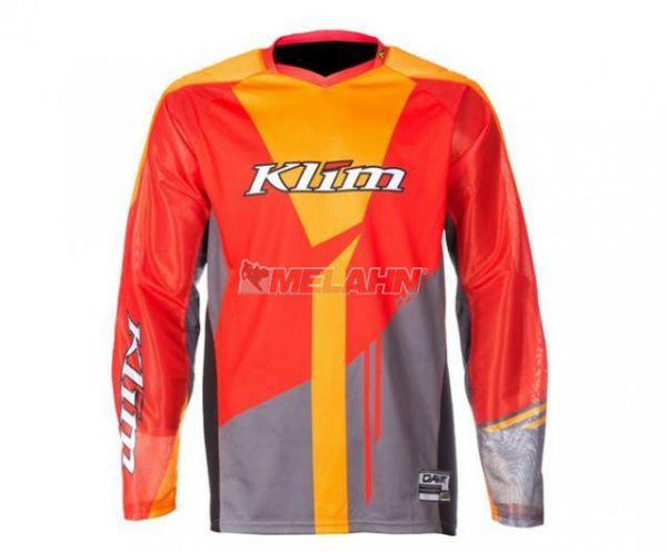 KLIM Jersey: Dakar, orange/grau