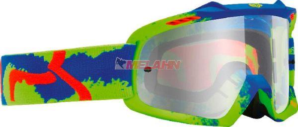 FOX Kids-Brille: AIR SPACE Marz, neon-gelb/blau