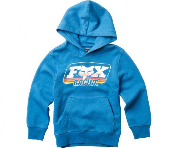 FOX YOUTH Hoody: Throwback, blau