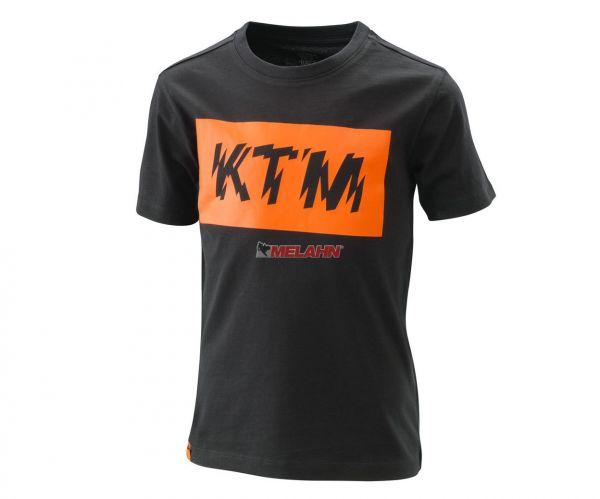 KTM Kids-T-Shirt: Radical Logo, schwarz