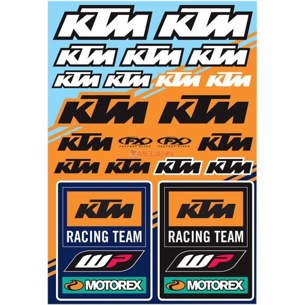 FX Generic Aufkleberkits: KTM Racing