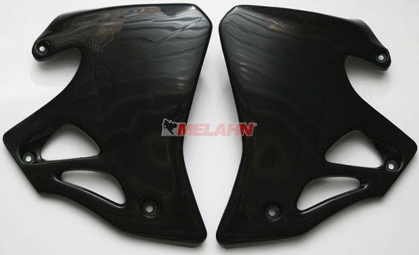 UFO Spoiler (Paar) Kühlerverkleidung CR 125/250 95-96, schwarz