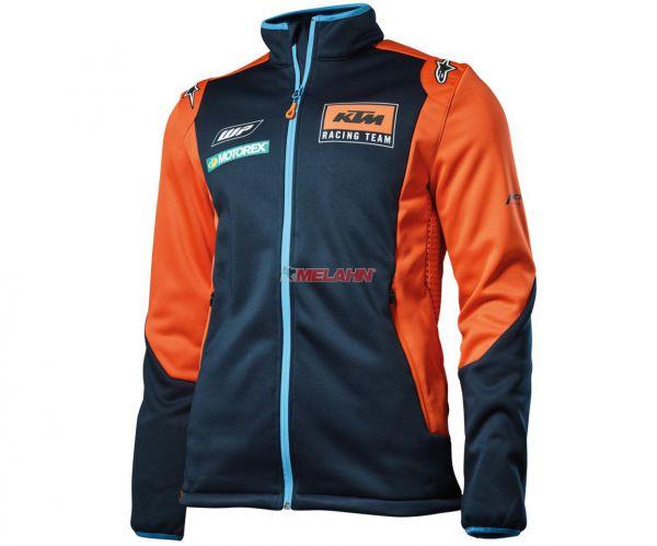 KTM Softshelljacke: Replica Team, blau/orange