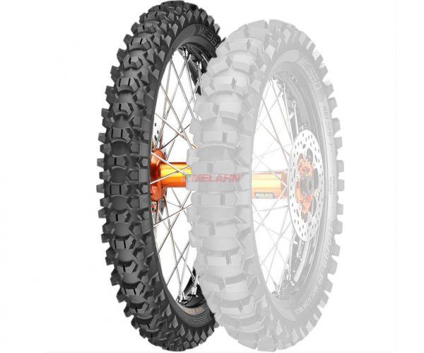 METZELER Reifen: MC 360 Mid Soft 90/90-21 (mit Straßenzulassung)