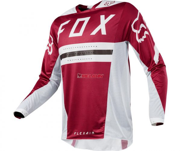 FOX Jersey: Flexair Preest, dunkelrot