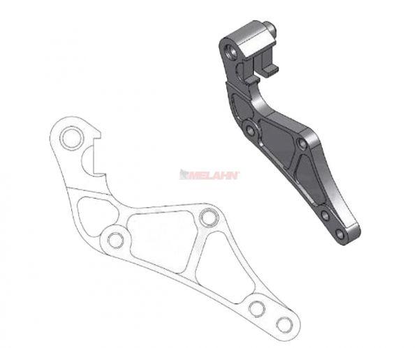 MOTO-MASTERS Adapter für 320mm Bremsscheibe KTM EXC 00-09