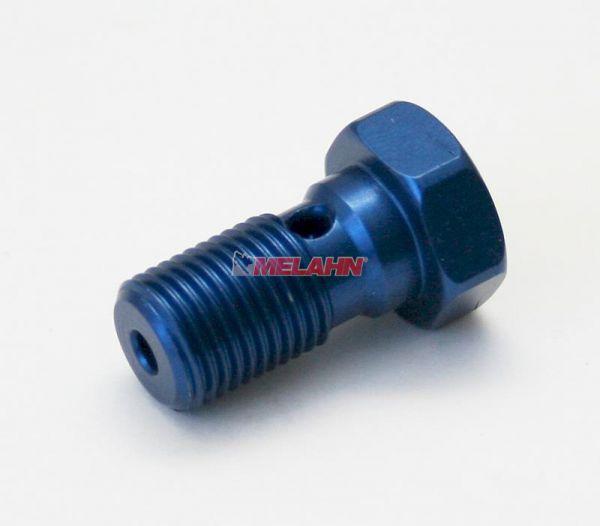 ZAP Aluminium-Hohlschraube Bremsleitung M10x1,25, blau