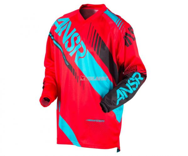 ANSWER Jersey: Syncron, rot/teal