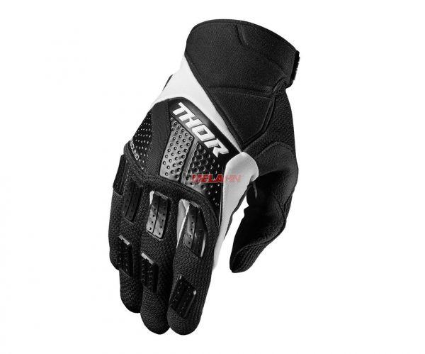 THOR Handschuh: Rebound, schwarz/weiß