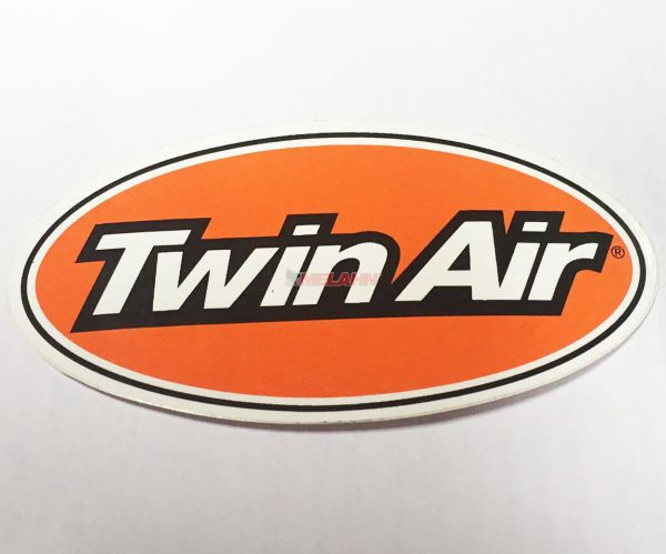 TWIN AIR Aufkleber oval, 8x4cm
