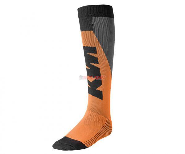 KTM Offroad Socke (Paar), schwarz/orange