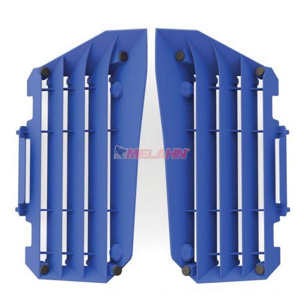 POLISPORT Kühlerschutz (Paar) YZF 450 10-13, blau
