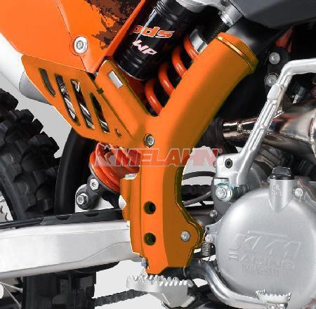 KTM Rahmenschützer (Paar) SX 07-10 / SMR/EXC 08-11, orange