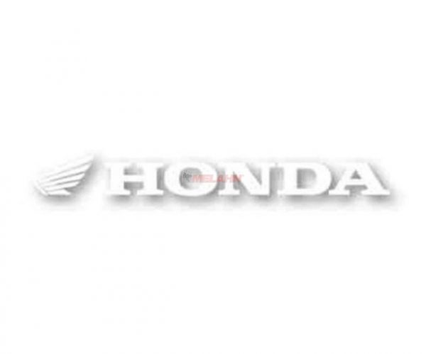 FX Aufkleber TDC: HONDA 92x10cm, weiß