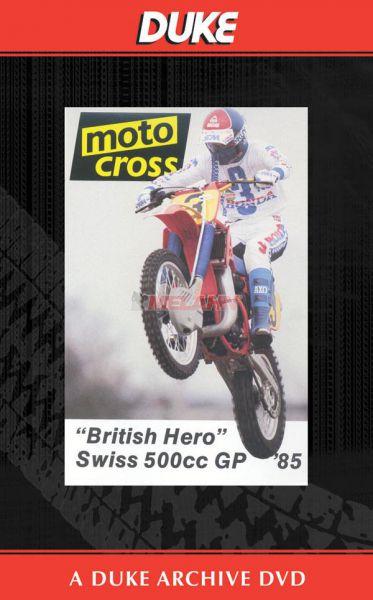 DVD: MX WM 500ccm von 1985, Switzerland