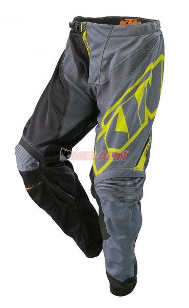 KTM Hose: Gravity-FX, grau/schwarz/gelb
