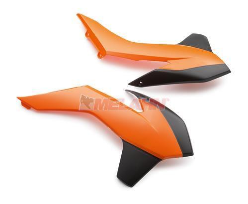 KTM Spoiler (Paar) ohne Dekor, SX/SMR 13-15 / EXC 14-16, orange