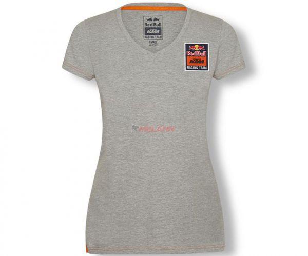 RED BULL KTM Girls T-Shirt: Team Tee, grau
