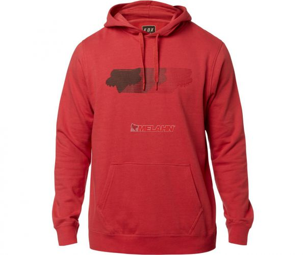 FOX Hoody: Faded, rot