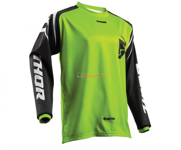 THOR Jersey: Sector Zones, lime