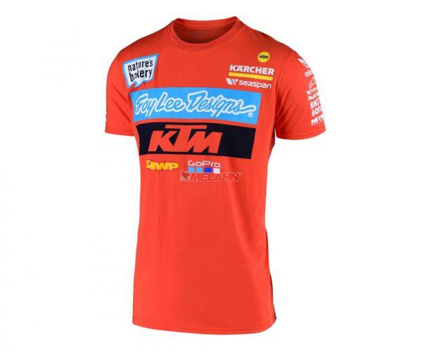 TROY LEE DESIGNS T-Shirt: KTM Team, orange
