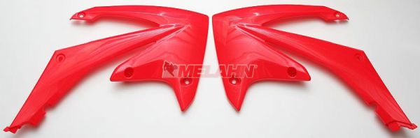 UFO Spoiler (Paar) Kühlerverkleidung CRF 250 10-13 / 450 09-12, CR2000rot