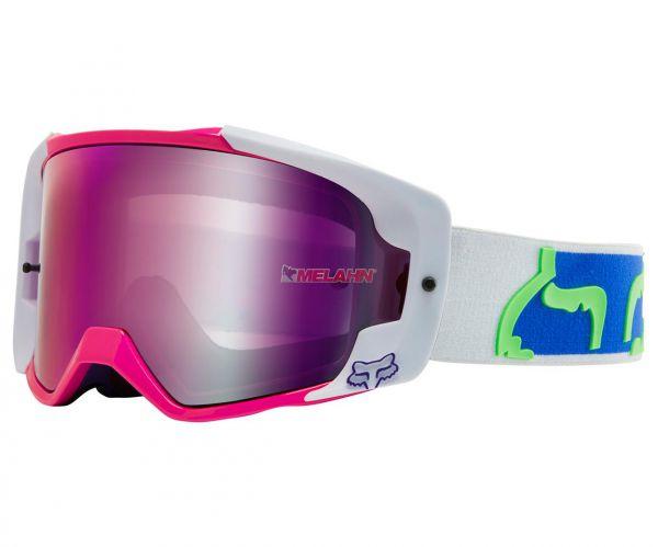 FOX Brille: VUE Dusc Spark, weiß/pink/blau