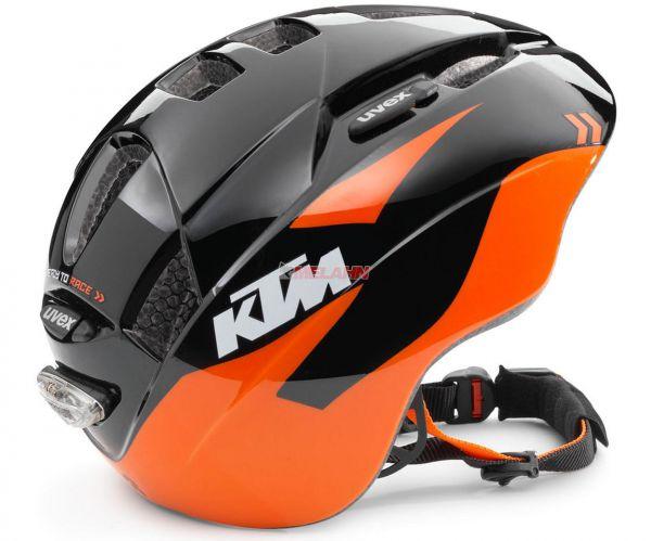 KTM Kids Fahrradhelm: Training, schwarz/orange