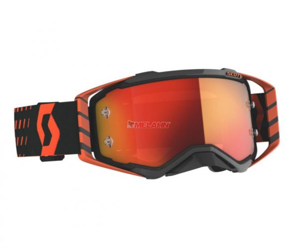 SCOTT Prospect Goggle Motocross MTB MX Enduro Cross Brille orange-schwarz orange verspiegelt