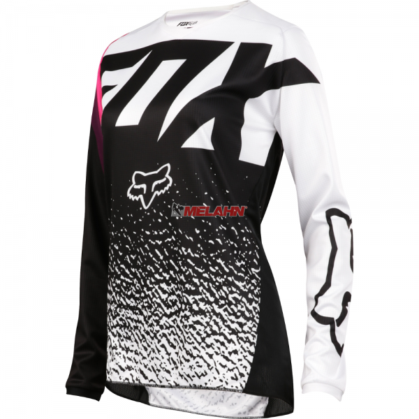 FOX Youth Girls Jersey: 180, schwarz/pink