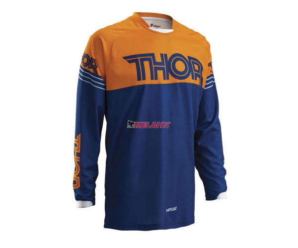 THOR Kids-Hemd: Phase Hyperion, navy/orange