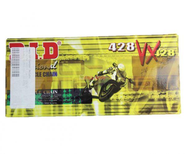 D.I.D. Kette 428 VX X-Ring (schwarz), 126 Glieder