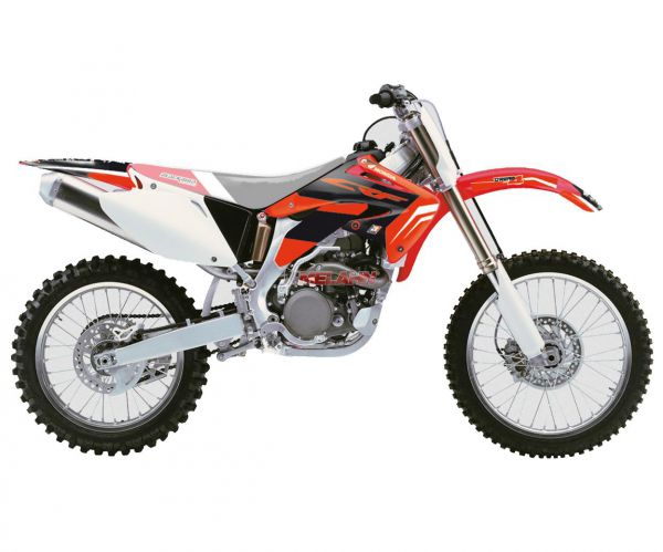 BLACKBIRD Dekor-Kit CRF 450 02-04