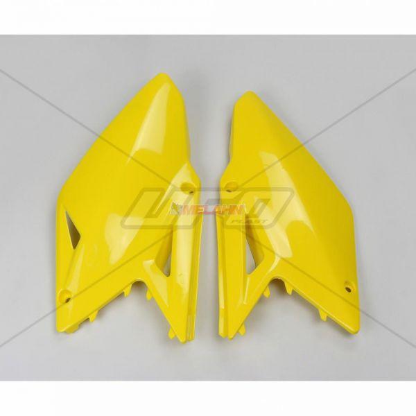 UFO Seitenteile (Paar) RMZ 450 08-17, gelb