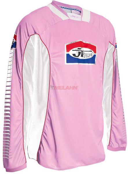 JT-RACING Hemd: Pro Tour, pink/weiß