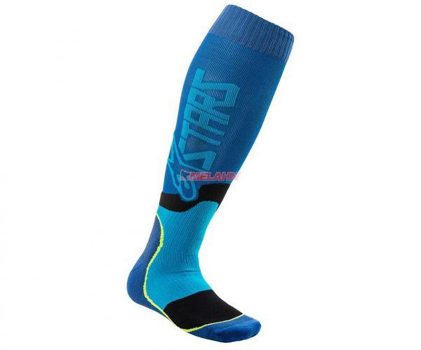 ALPINESTARS Socke (Paar): MX Plus-2, blau