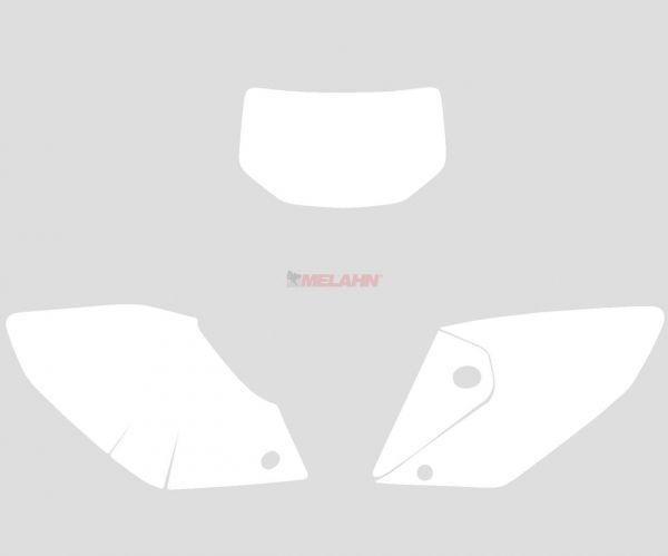 BLACKBIRD Startnummernuntergrund CRF 250X 04-07, weiß