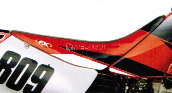 FX Sitzbezug EVO XR 250/400 96-07, schwarz/rot