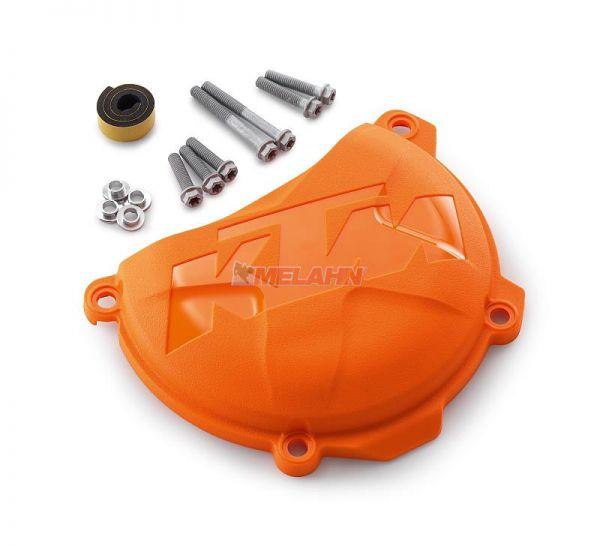 KTM Plastik-Kupplungsdeckelschutz 250/350 4-Takt, orange