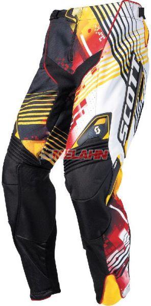 SCOTT Hose: 450, schwarz/rot/gelb