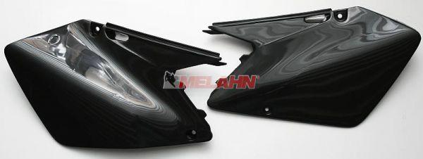 UFO Seitenteile (Paar) RM 125-250 06-09, weiß
