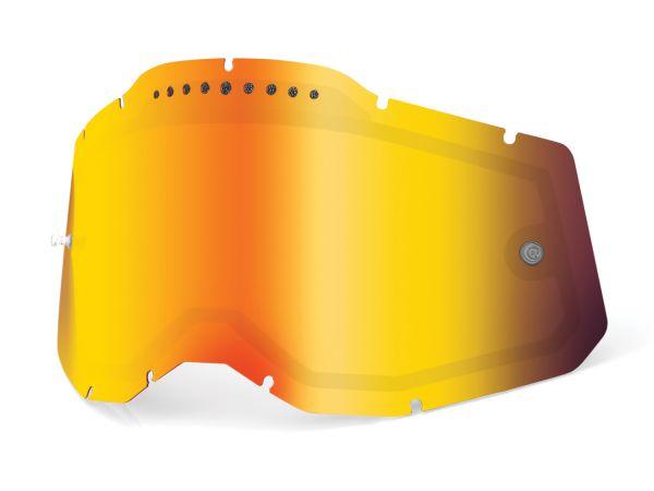 100% Spiegel-Doppelglas vented Generation 2, rot