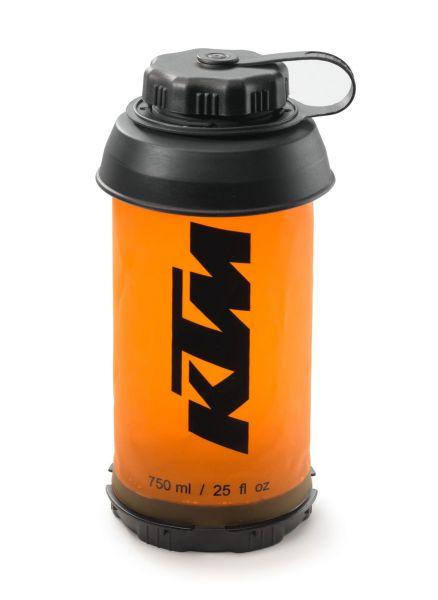 KTM Trinkflasche faltbar: Unbound 750ml, orange
