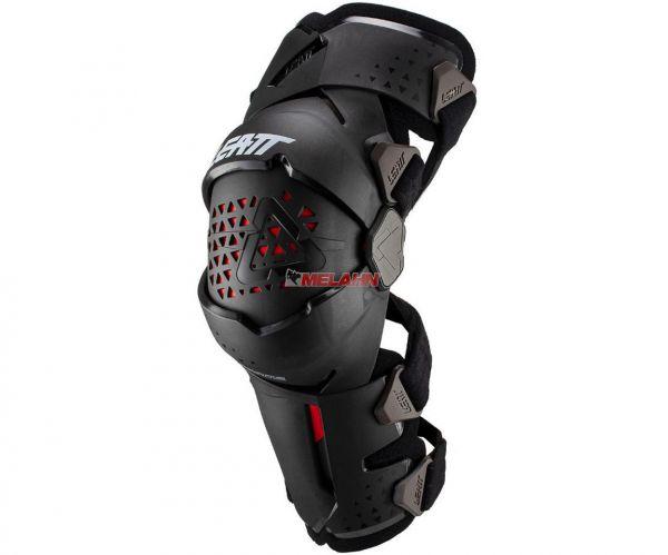 LEATT Knee Brace (Paar): Z-Frame, schwarz