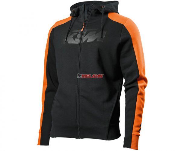 KTM Zip-Hoodie: Pure, schwarz/orange