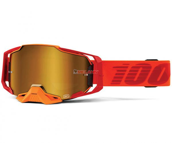 100% Brille: Armega, Litkit, rot
